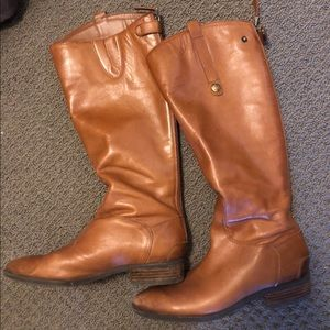 Sam Edelman Women's Leather Riding Boots, Size 9